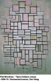 Mondrian Abstract Landscape123
